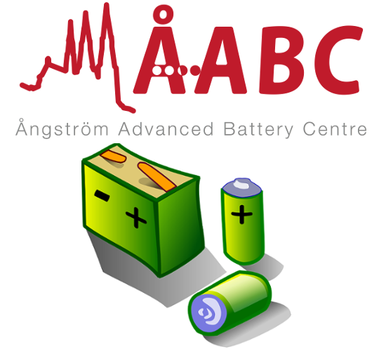 ÅABC logo + an image with different types of batteries.